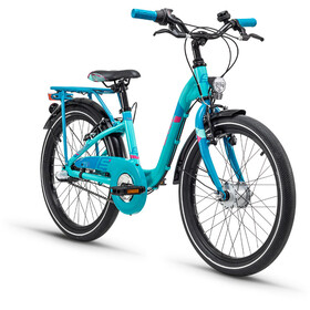 s'cool chiX 20 3-S alloy Türkis Matt